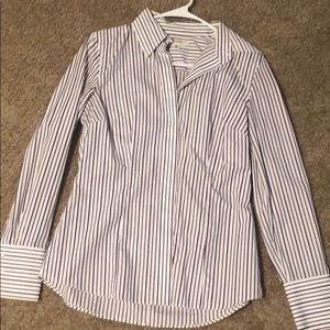 Banana Republic non iron fitted shirt.